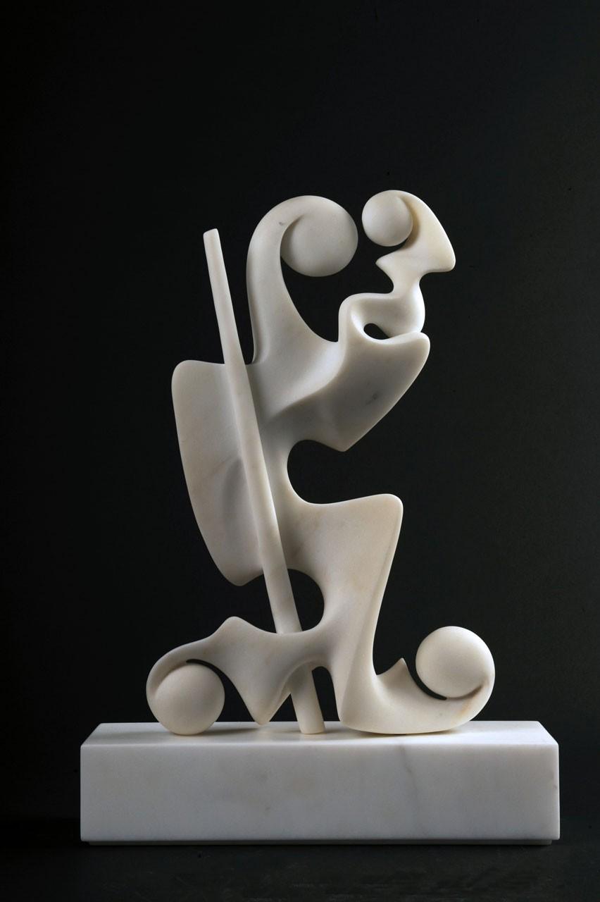 San Cristoforo Barghigiano, 2009 - Marmo bianco statuario, cm 49x34x10