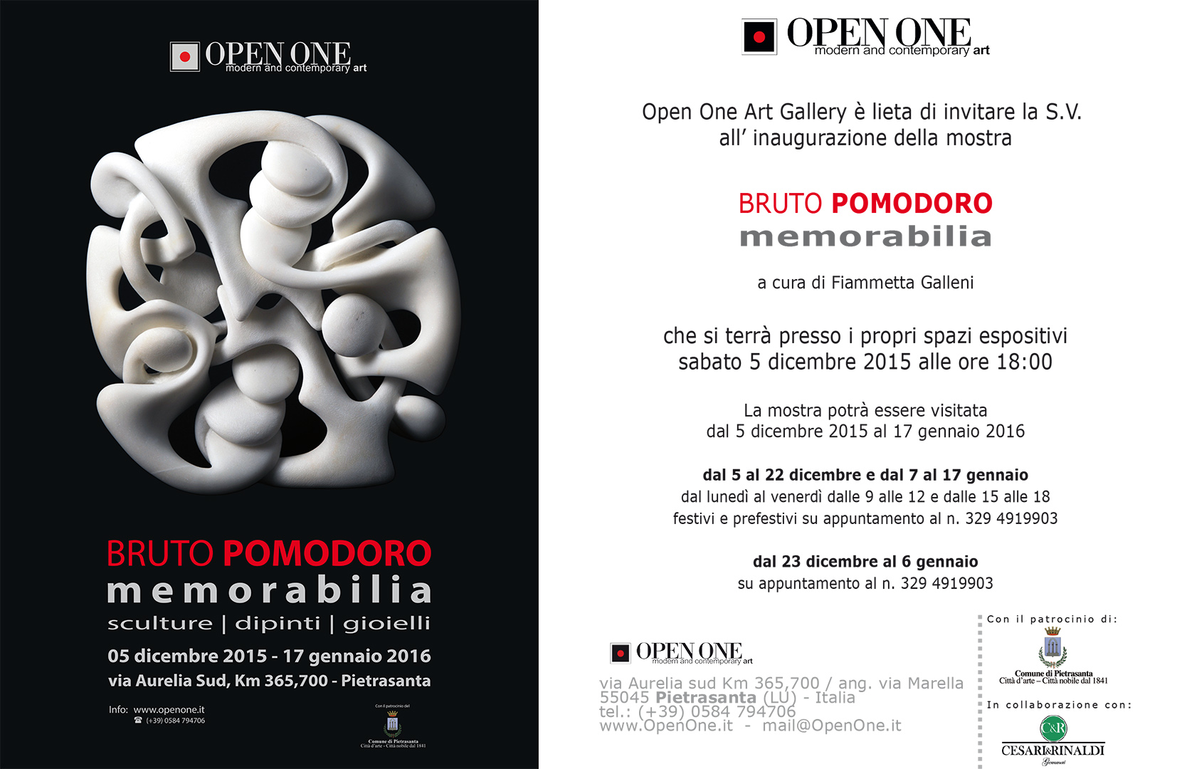 Invito-OPENONE-mostra-Bruto-Pomodoro
